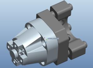 Wide bandwidth optical beam steering device