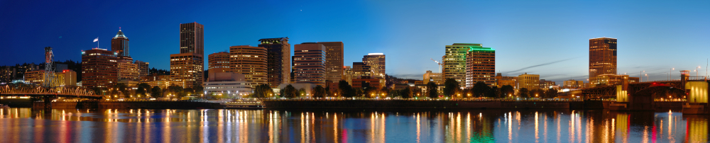 Portland_Night_panorama