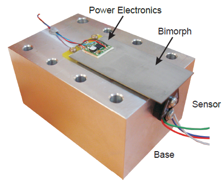 Piezoelectric Actuators with Integrated High Voltage Power Electronics