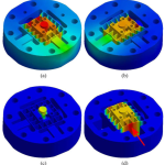 Design, modeling, and FPAA-based control of a high-speed atomic force microscope nanopositioner