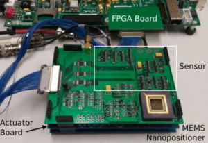 Switched Self-Sensing Actuator for a MEMS Nanopositioner
