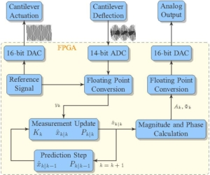 A Kalman Filter for Amplitude Estimation in High-Speed Dynamic Mode Atomic Force Microscopy