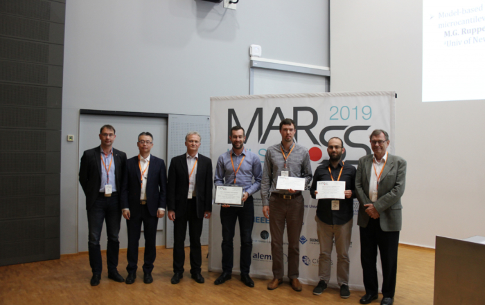 Dr Michael Ruppert wins best conference paper award at MARSS2019